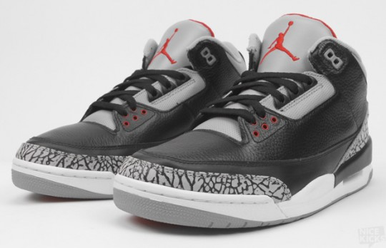 size 40 b50c6 a5617 Like many recent retros, we note that the colors are not met (we think of  the gray cement IV white   cement). The air jordan 3 Black   Cement is no  ...