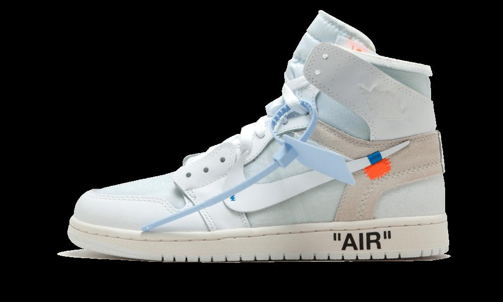 The Off-White x Air Jordan 1